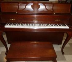 Kawai cherry model 607 console piano