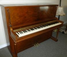 Gulbransen walnut studio piano