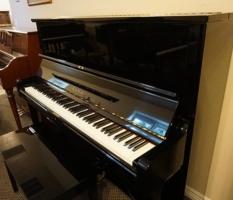 Kawai 49″ studio upright piano and matching bench