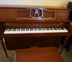 Yamaha M500 cherry console upright piano